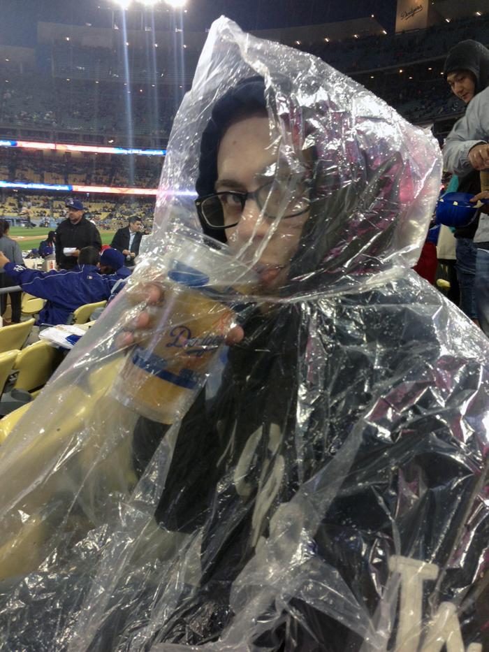 Peter at Dodger Stadium