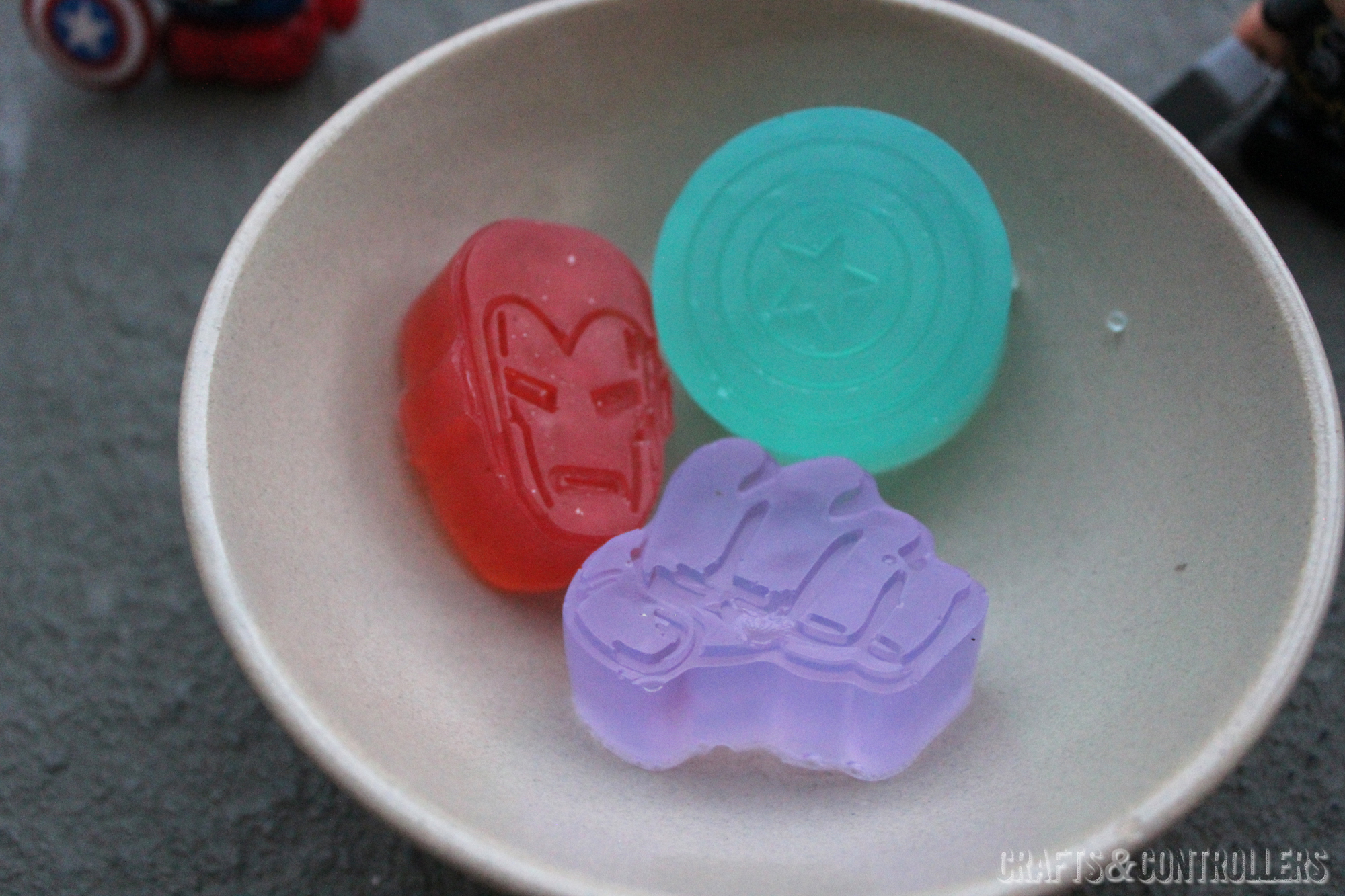 Avengers Assemble! How to Make Marvel-ous Fourth of July Soap