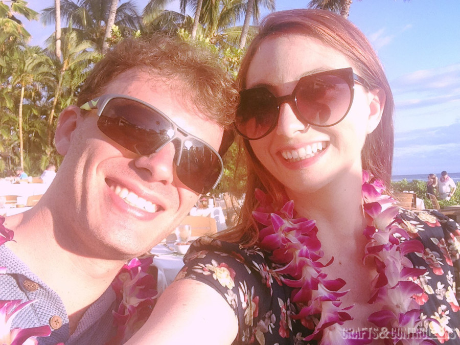 Emily and Peter in Maui