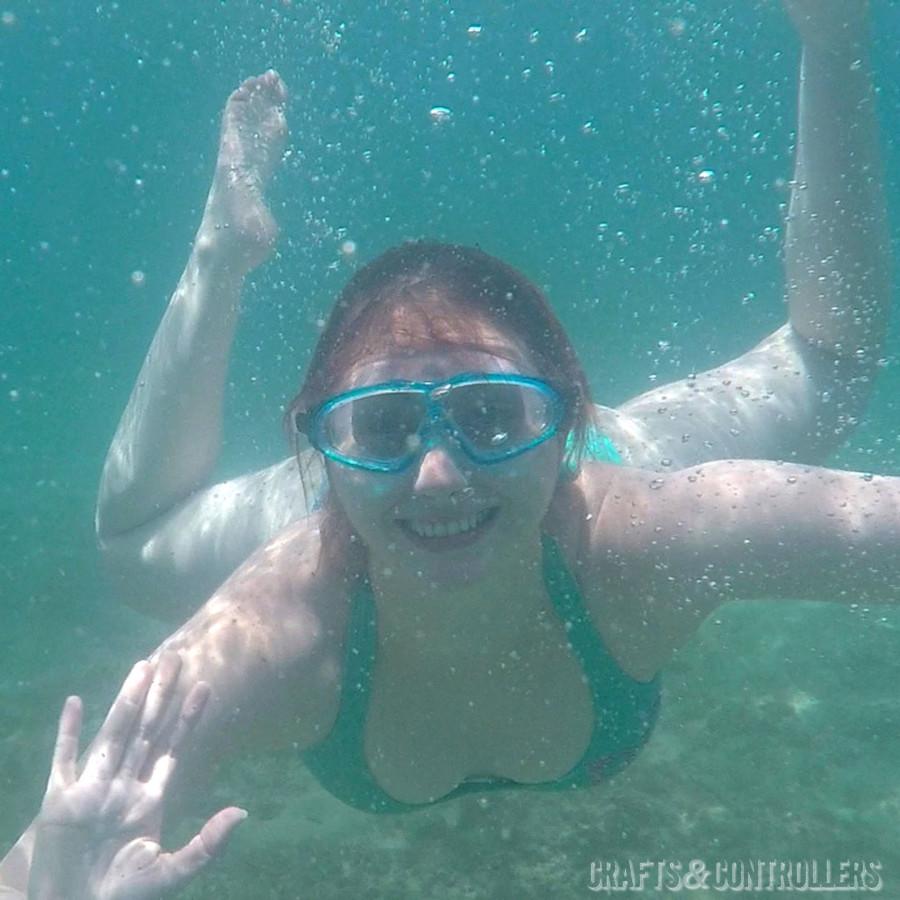 Swimming in Maui