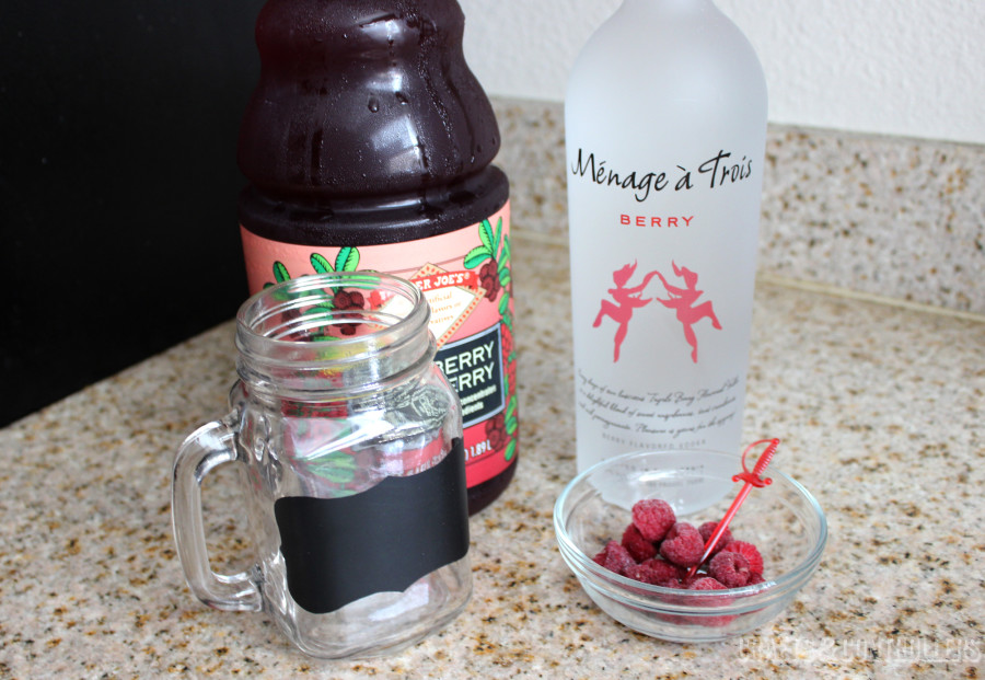 Red Sonja Cosplay Cocktail Ingredients