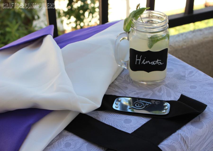 Menage a Trois Vodka Hinata Cosplay Cocktail